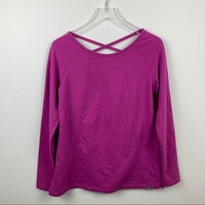 Ascend Tunic Pull Over in Meadow Mauve